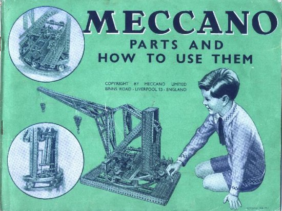 1935 Meccano Parts and How To Use Them
