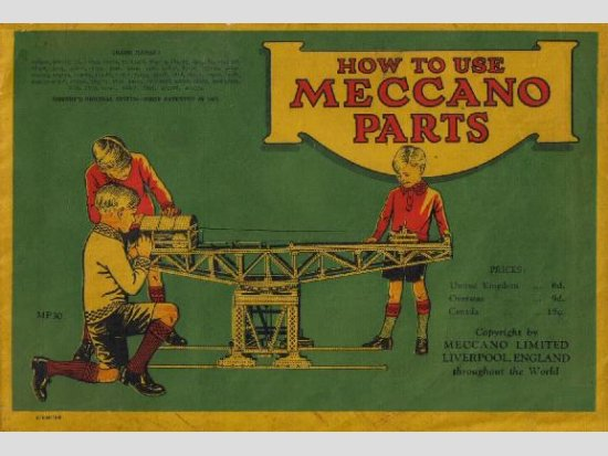 1930 How To Use Meccano Parts